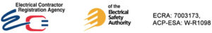 electrical contractor registration agency of the electrical safety authority Logos